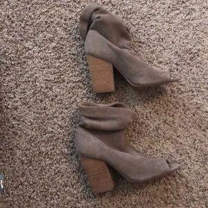 Chinese Laundry Kristen Cavallari Open Toe Booties